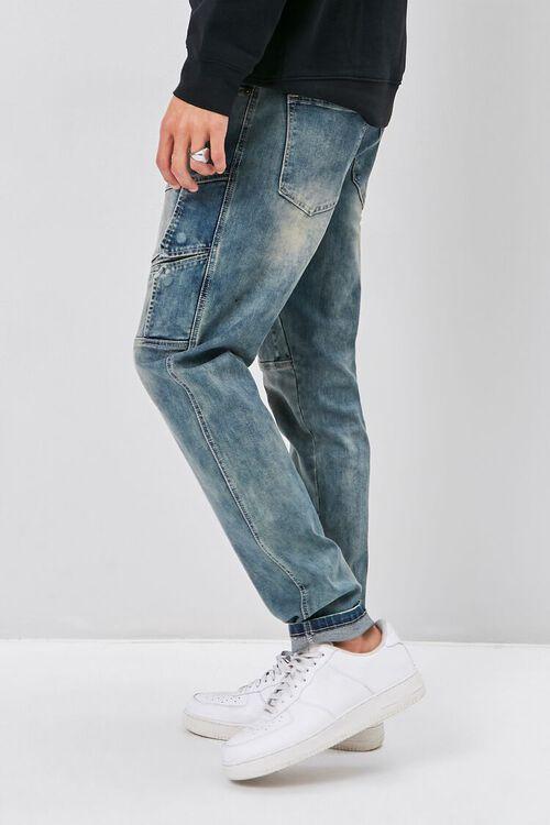 Flap-Accent Straight-Leg Jeans, image 3