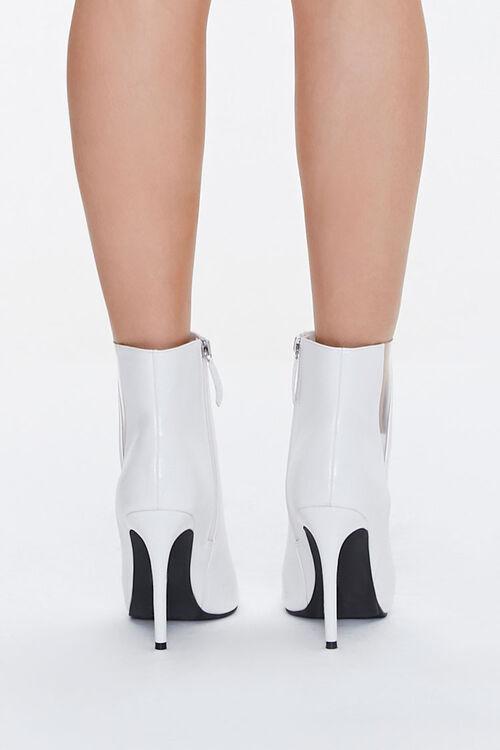 Translucent-Panel Stiletto Booties, image 3