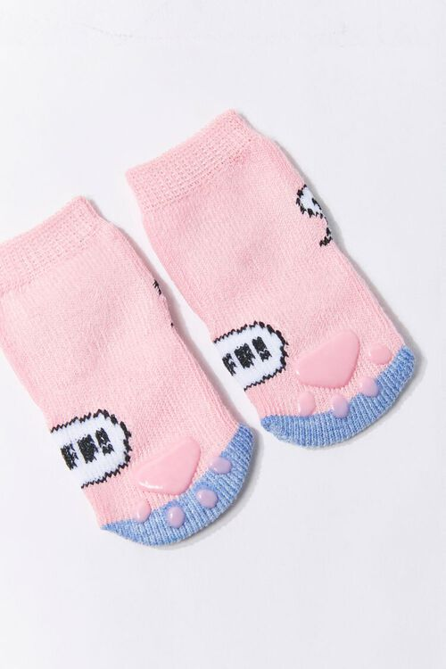 Dog Print Sock Set, image 2