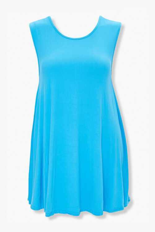 Plus Size Flowy Tank Dress, image 1