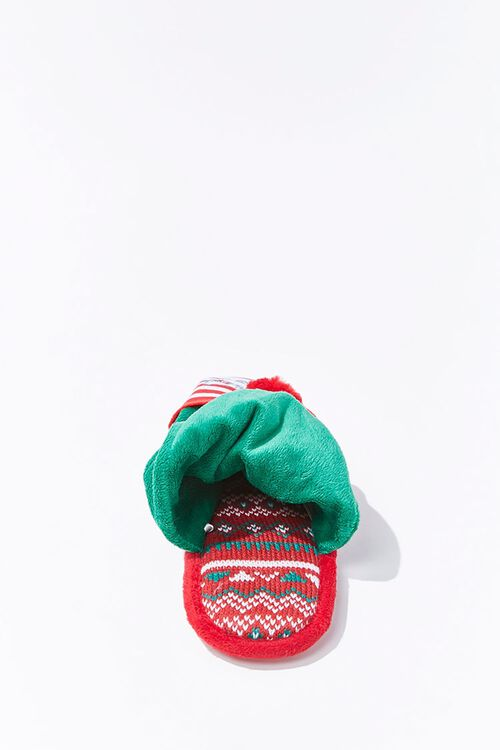 Lets Get Elfed Up Indoor Slippers, image 3