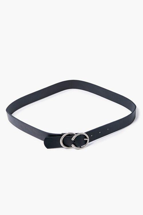 Embossed Buckle Hip Belt, image 1