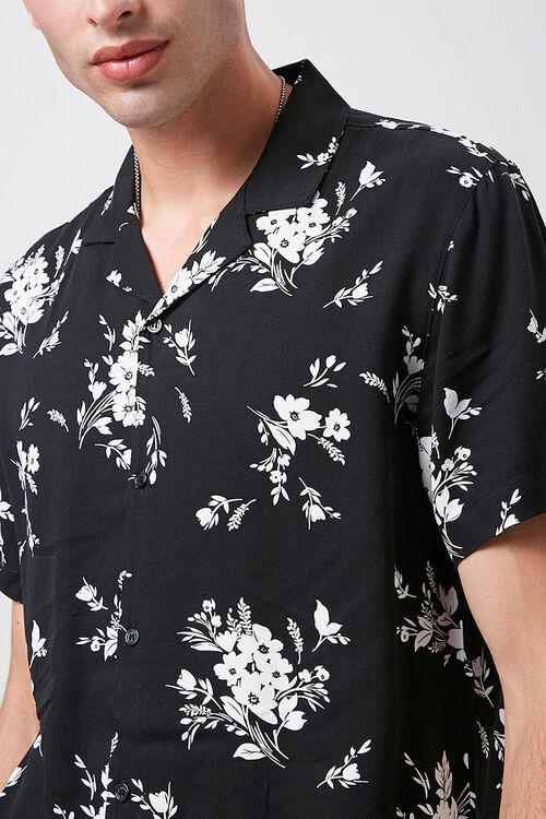 Classic Fit Floral Print Shirt, image 5