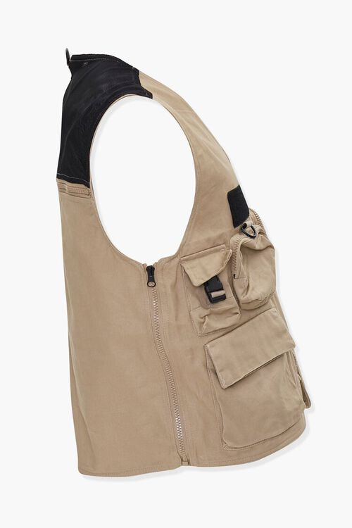 Zip-Up Utility Vest, image 2