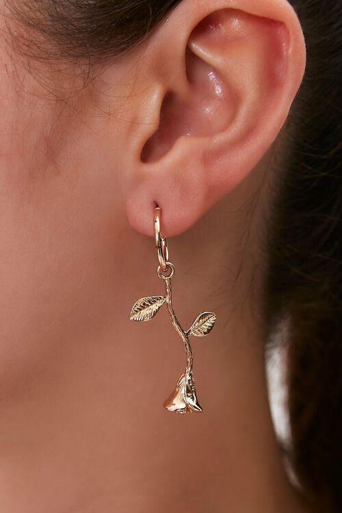 Rose Drop Earrings, image 1