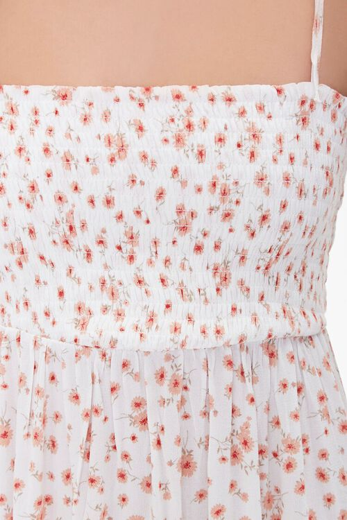 Floral Print Self-Tie Maxi Dress, image 5