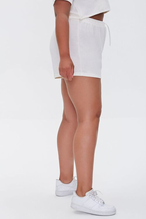 Plus Size French Terry Shorts, image 3