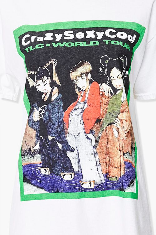 WHITE/MULTI TLC Tour Graphic Tee, image 3