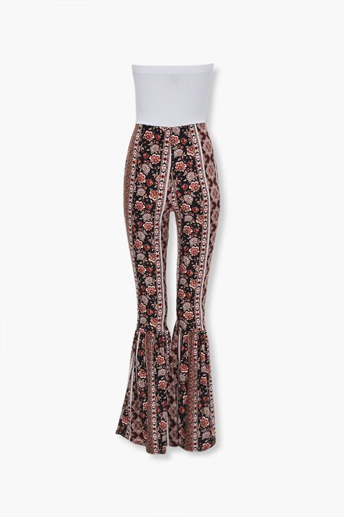 Ornate Print Combo Jumpsuit, image 3