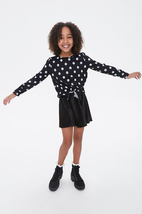 Girls Polka Dot Top (Kids), image 4