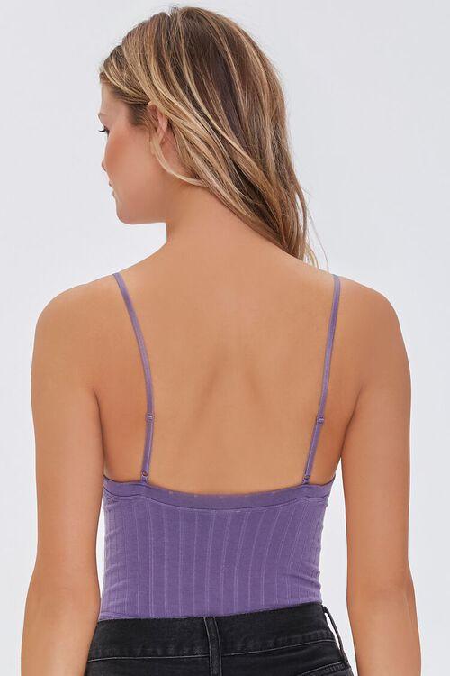 GRAPE Seamless Ribbed Bodysuit, image 3
