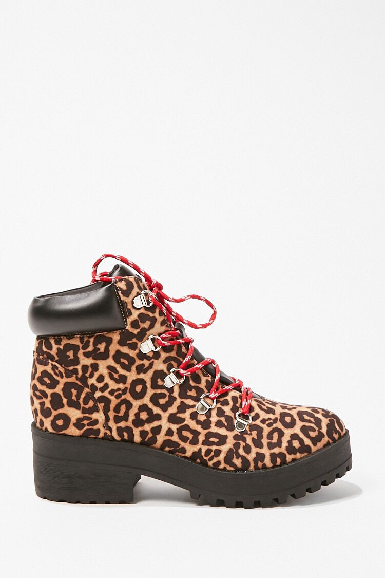 Leopard Print Boots | Forever 21