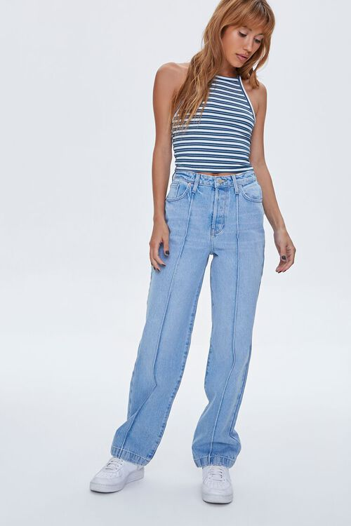 Seamed 90s-Fit Jeans, image 1