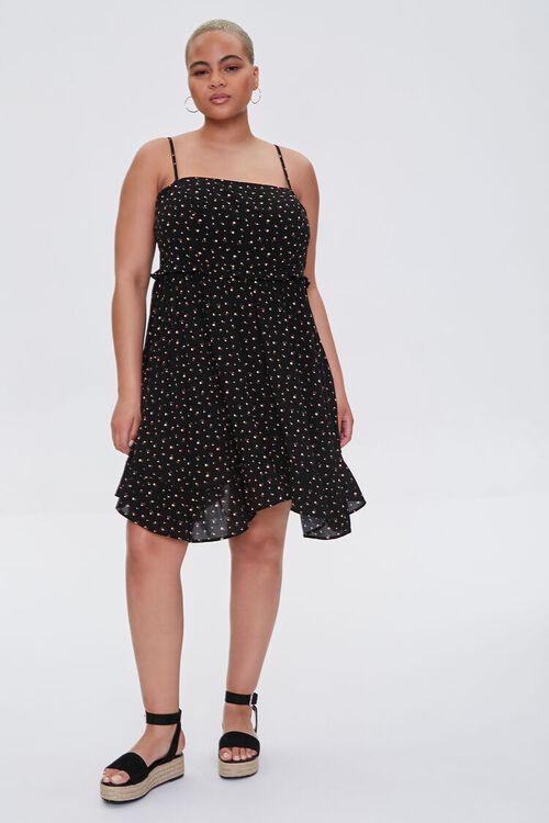 Plus Size Ditsy Floral Dress, image 4