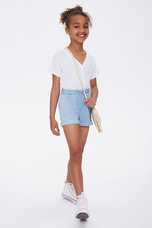 Girls Button-Front Top (Kids), image 3