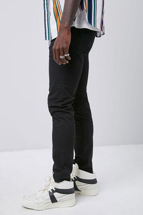 Twill Slim-Fit Pants, image 3