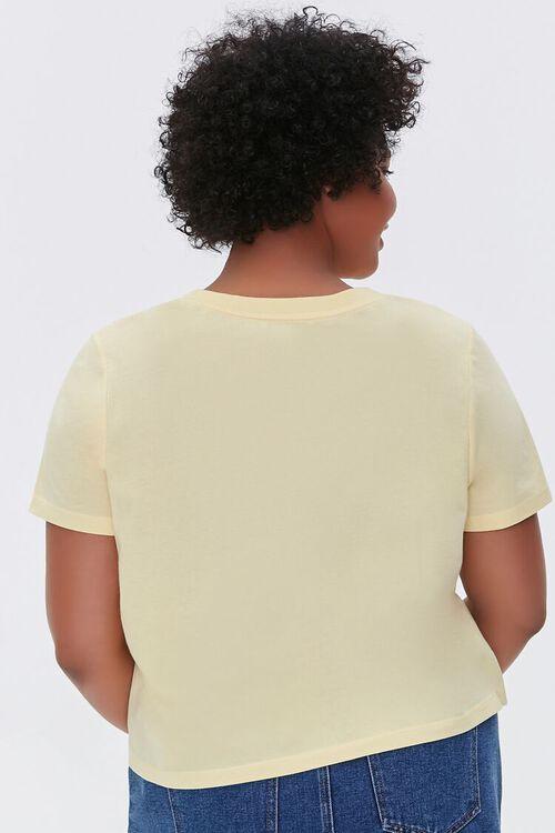 Plus Size Basic Organically Grown Cotton Tee, image 3