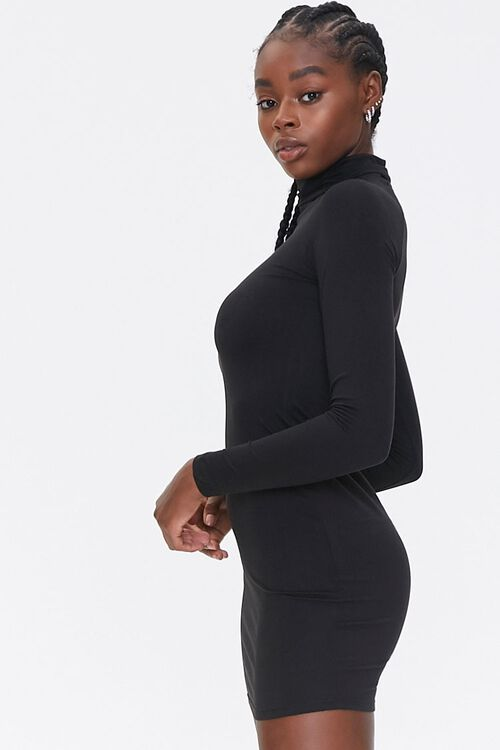Turtleneck Bodycon Dress, image 2