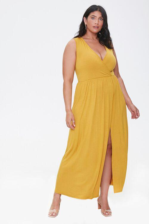 Plus Size Sleeveless Maxi Dress, image 4