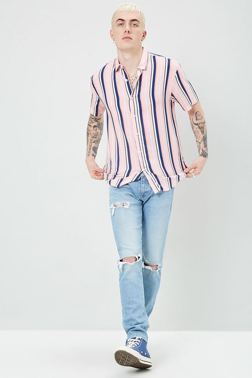 Classic Fit Striped Shirt, image 4