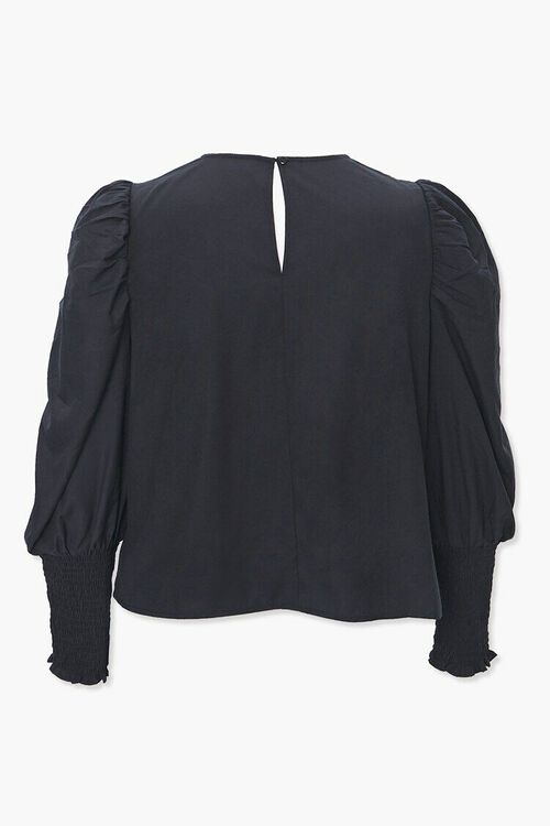 Plus Size Gigot-Sleeve Top, image 3