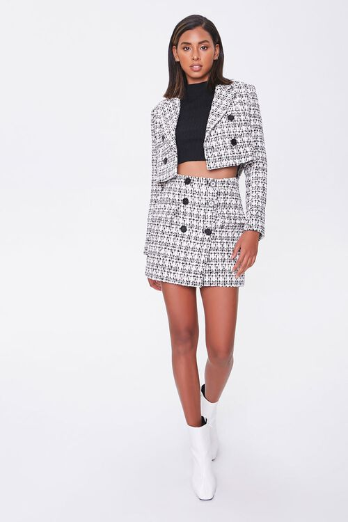 Tweed Cropped Blazer, image 4