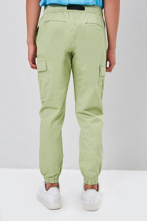 Belted Cargo Joggers, image 4