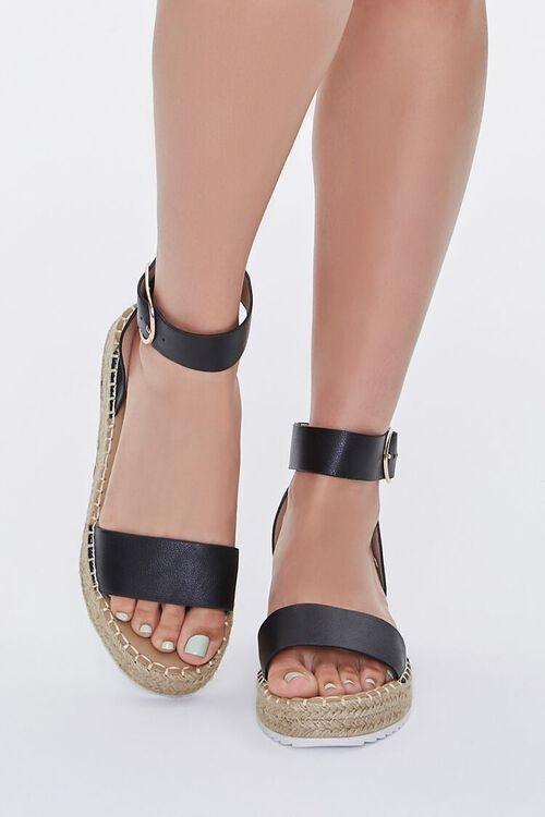 Espadrille Flatform Sandals, image 4