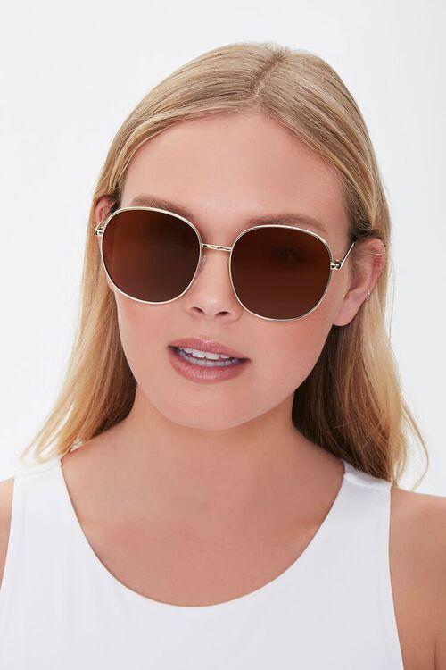 Round Metal Sunglasses, image 2