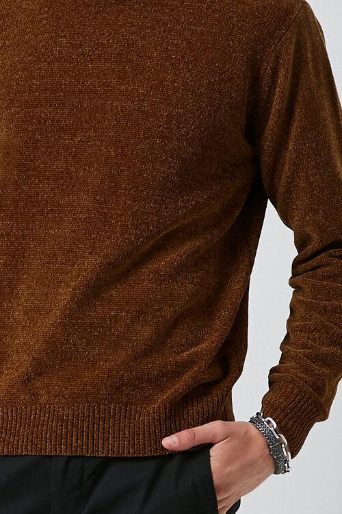Chenille Crew Neck Sweater, image 5