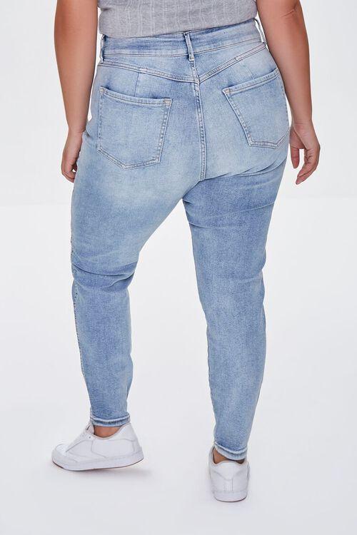 MEDIUM DENIM Plus Size Skinny Uplyfter Jeans, image 4