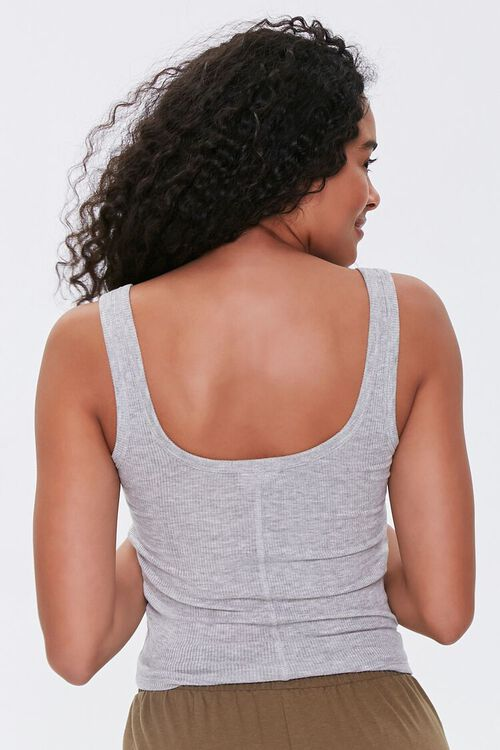 Heathered Pajama Tank Top, image 3