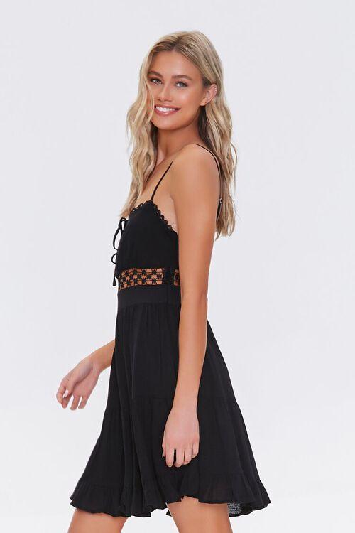 Lace-Trim Mini Dress, image 2