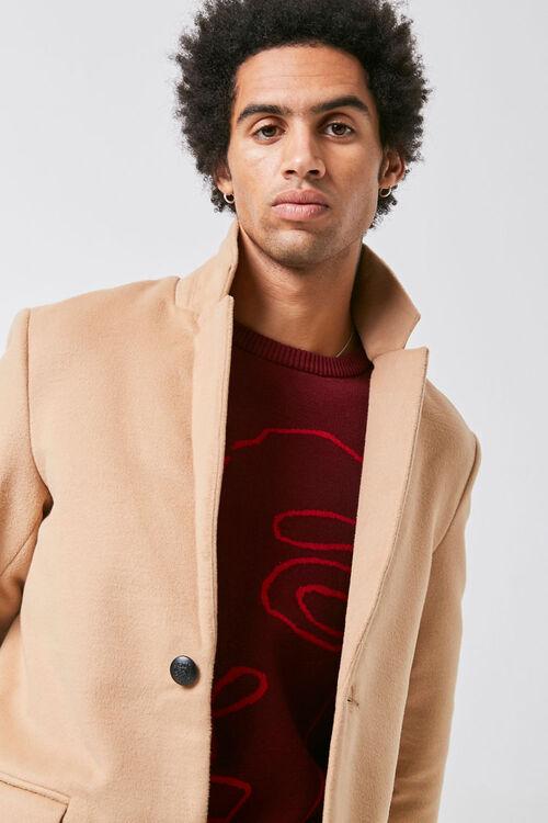 Notched Longline Coat, image 4