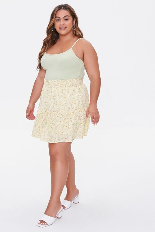Plus Size Basic Organically Grown Cotton Cami, image 4