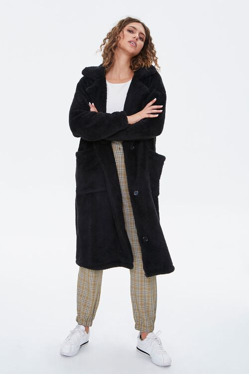 Faux Fur Teddy Coat, image 4