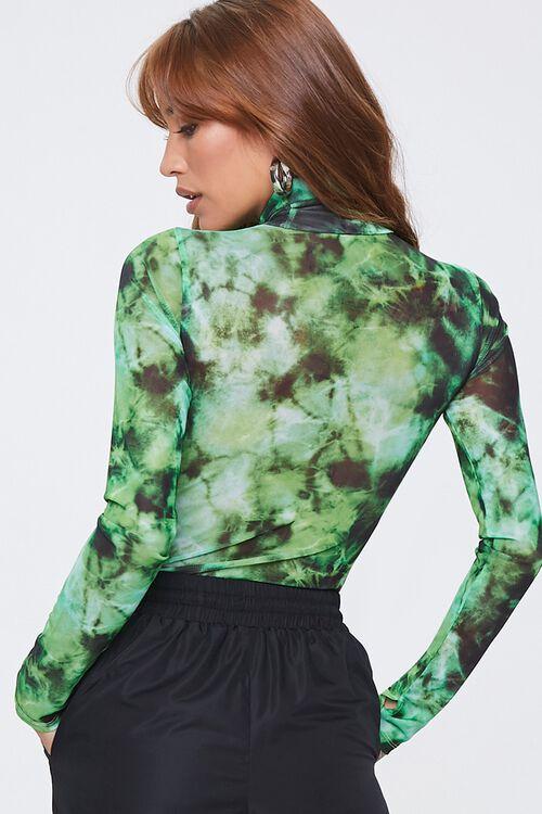 Tie-Dye Turtleneck Bodysuit, image 3