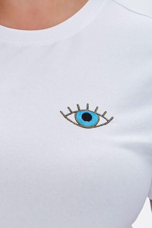 Plus Size Embroidered Eye Tee, image 5