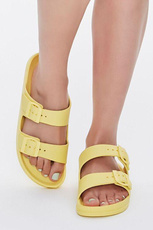 Buckled Flatform Sandals, image 4