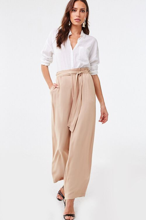 Belted Paperbag Mia Pants, image 5