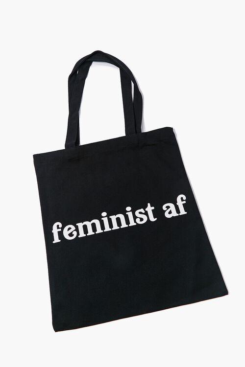 Feminist AF Graphic Tote Bag, image 1