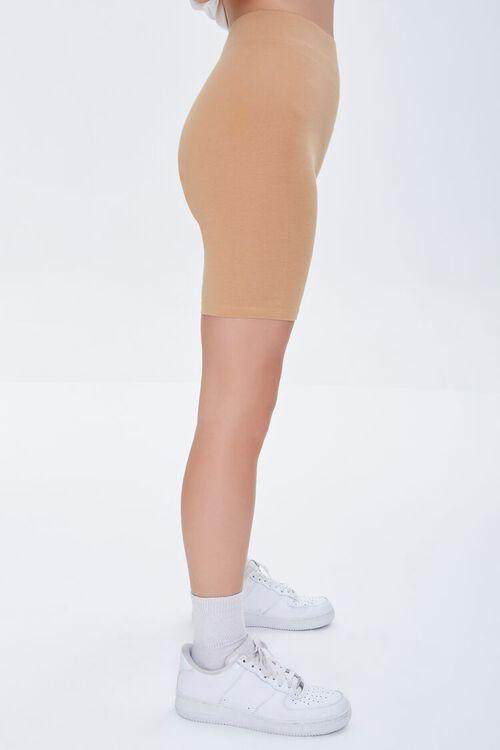 CAMEL Basic Organically Grown Cotton Biker Shorts, image 3