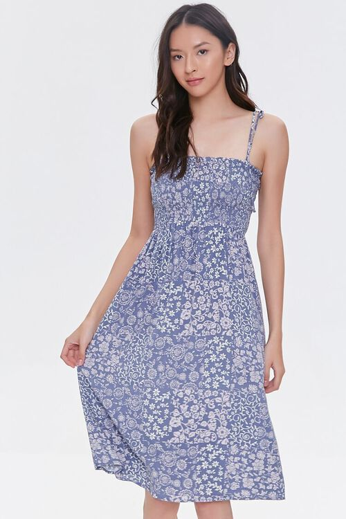 Tie-Strap Paisley Dress, image 2