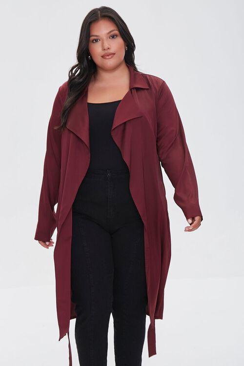 RED Plus Size Wrap Jacket, image 6