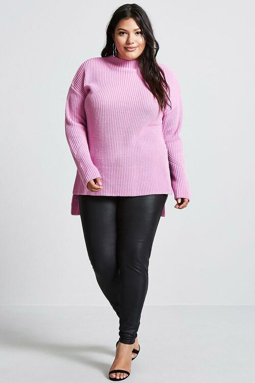Plus Size Longline Sweater, image 4