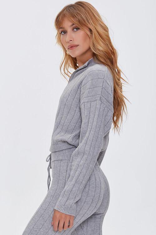 Ribbed Half-Zip Sweater, image 2