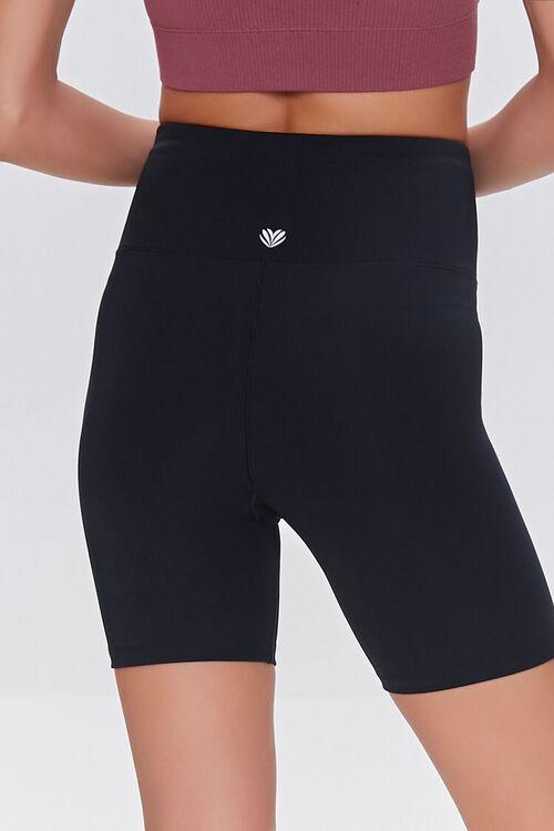 BLACK Active Biker Shorts, image 4