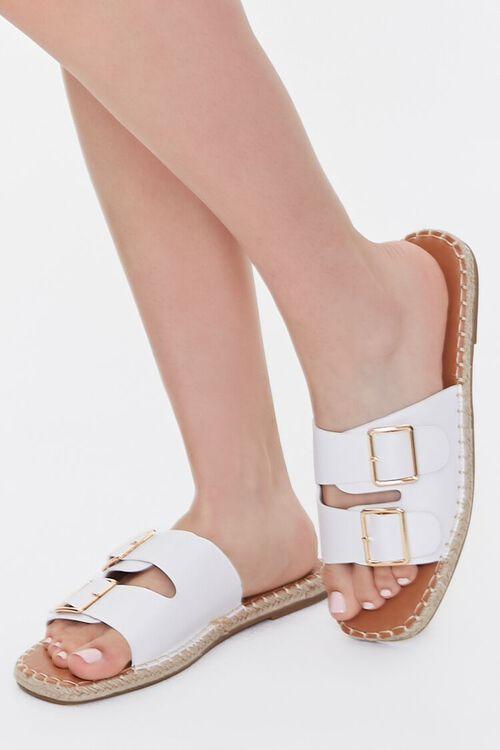 Buckled Espadrille Sandals, image 1