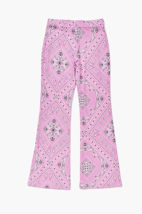 Girls Paisley Flare Pants (Kids), image 2