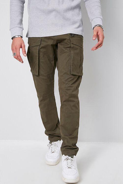 Skinny Denim Cargo Pants, image 2